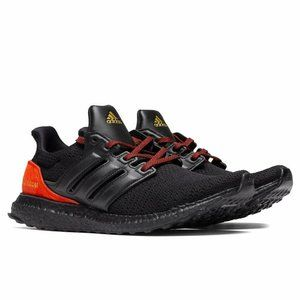 AUTHENTIC adidas UltraBOOST DNA Black Red FW4899